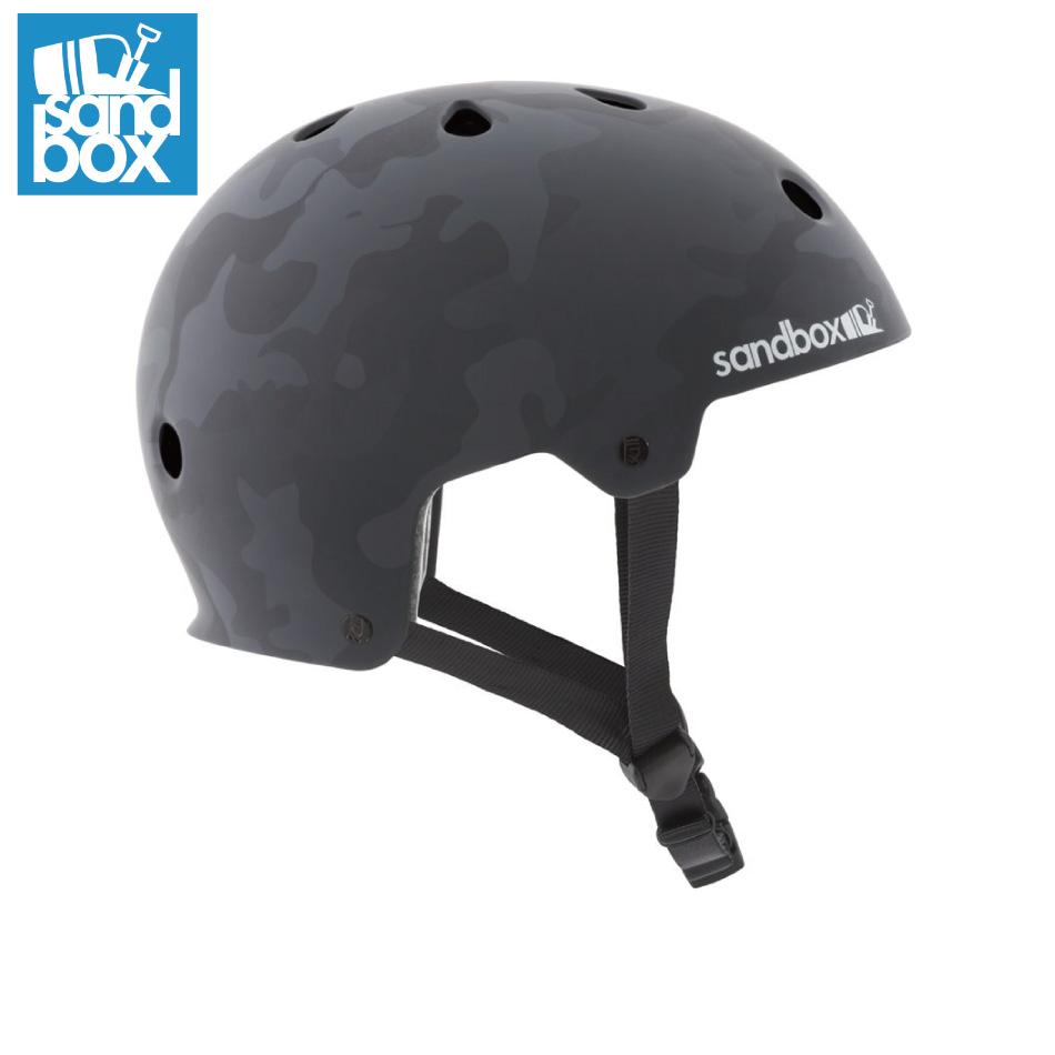 SANDBOX Helmet LEGEND Low Rider BlackCamo(Matte) サンドボックス レジェンド ロー ライダー ウォータースポーツ スケートボード