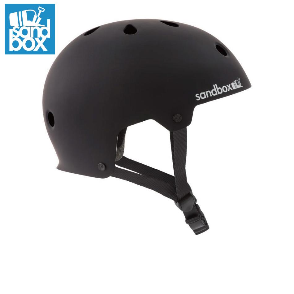 SANDBOX Helmet LEGEND Low Rider Black(Matte) サンドボックス レジェンド ロー ライダー ウォータースポーツ スケートボード