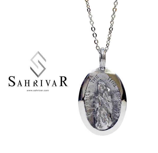 SAHRIVAR シャフリーバル SN32S12AS シルバー マリア メダル ネックレス