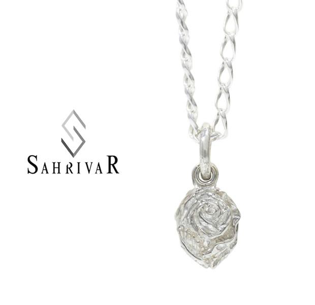 SAHRIVAR シャフリーバル SN119S17S Silver Rose NecklaceSilver シルバー ローズ バラ ネックレス メンズ レディース