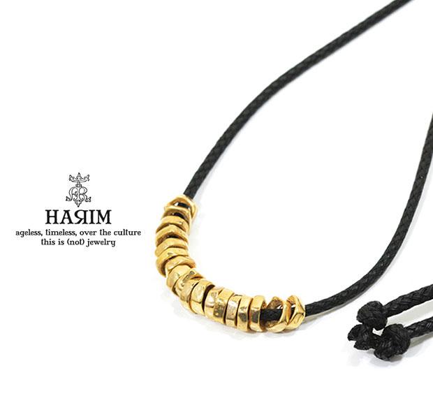 HARIM ハリム HRP117GPC Rock Beads Necklace WGold ゴールド Silver シルバー ビーズ ネックレス メンズ レディース