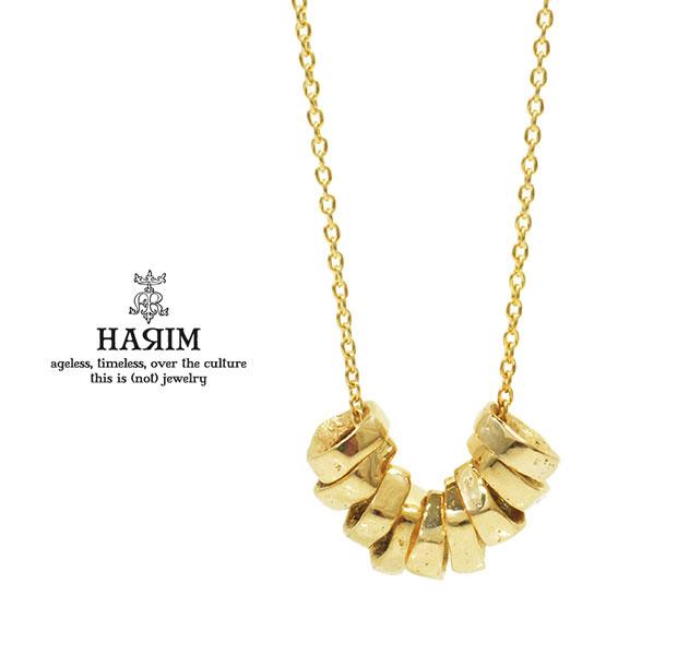 HARIM ハリム HRP118GP Rock Beads Chain NecklaceGold ゴールド Silver シルバー ビーズ ネックレス メンズ レディース
