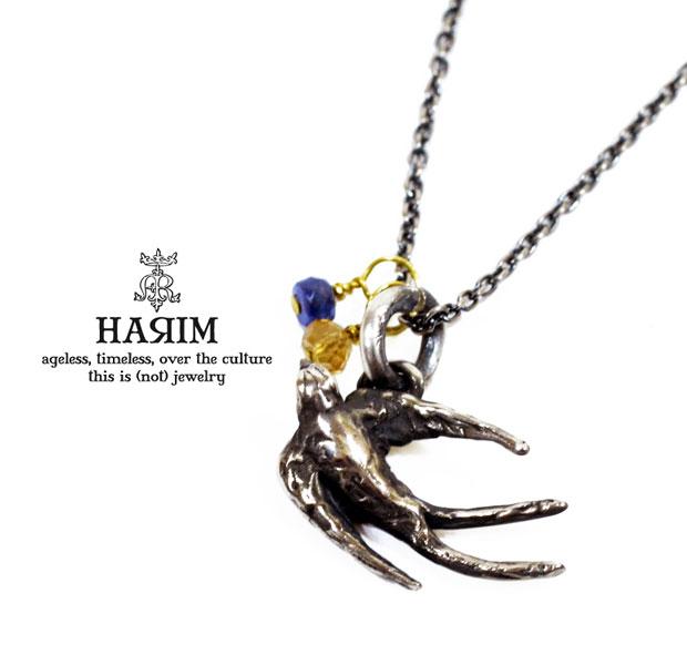 HARIM ハリム HRP058 necklaceシルバー スワロウ ツバメ ネックレス