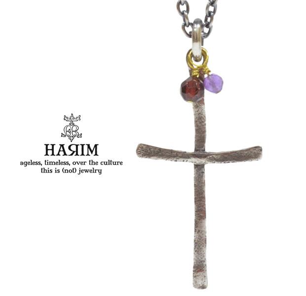 HARIM ハリム HRP093 necklaceシルバ- クロス ネックレス