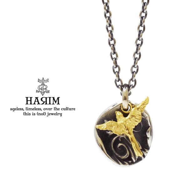 HARIM ハリム HRP098 S day breaker pendant【night and bird】necklaceシルバー フェザー バード ネックレス