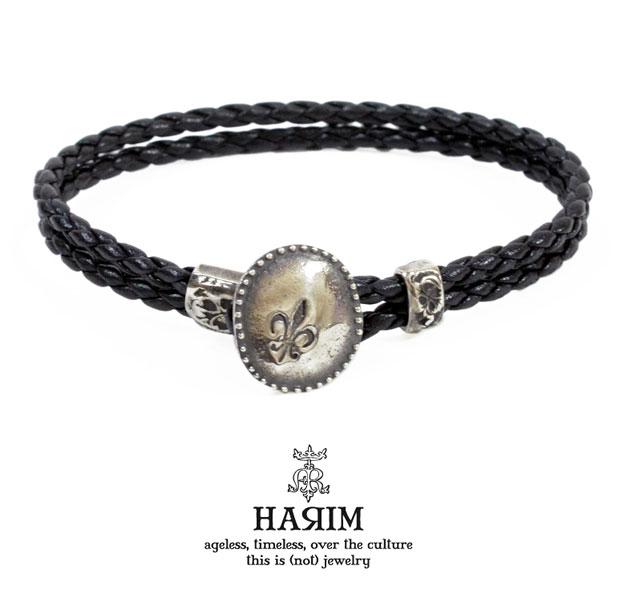 HARIMハリム HRA036 bracelet/ブレスレットLILY/ユリnative/ネイティブハンドメイド/アンティーク/レザーメンズ/レディース/アクセサリー