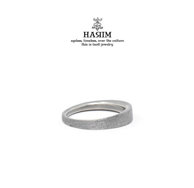 HARIM ハリム HRR043AR EDGE RING3 ARASHISilver シルバー シンプル リング メンズ レディース