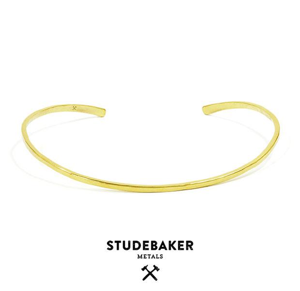 STUDEBAKER METALS スタッドベーカー メタル TORQUE BRASS CHOKER真鍮 チョーカー ネックレス メンズ レディース 【あす楽対応】