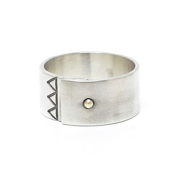 LAKUGAKI ラクガキ LA-021 RING Silver シルバー シンプル リング メンズ レディース 【あす楽対応】