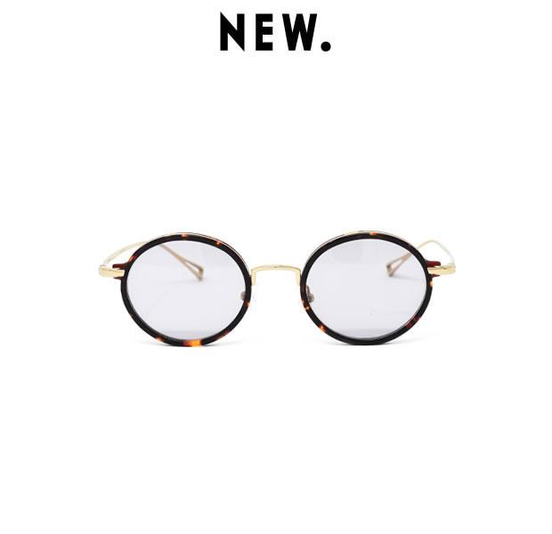 NEW. ニュー BEHAN c-2 / brown SUN メガネ アイウェア ブラック シルバー