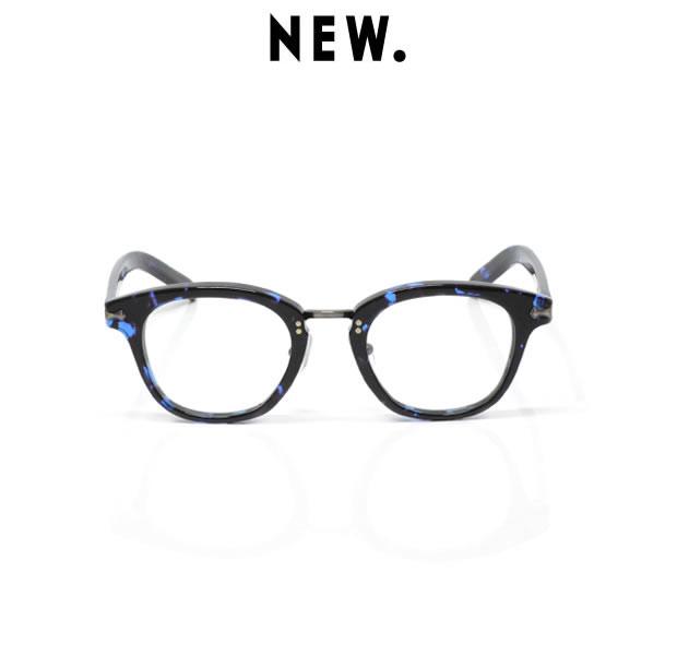 NEW. ニュー NEWMAN ニューマン BILL / c-4 / blue demi メガネ アイウェア ブルー デミ