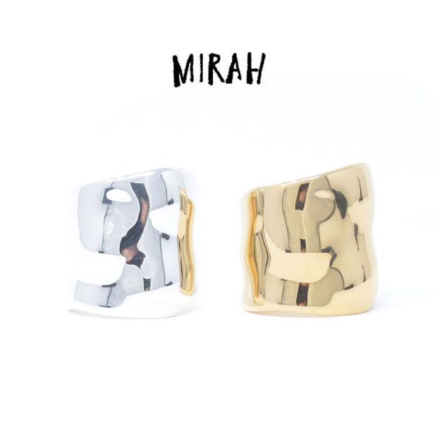 MIRAH ミラー R101 RING / GOLDSilver シルバー リング シンプル メンズ レディース