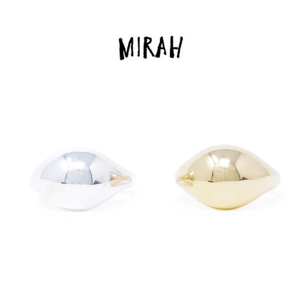 MIRAH ミラー R105 RING / SILVERSilver シルバー リング シンプル メンズ レディース