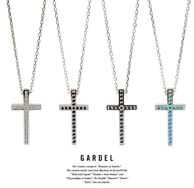 GARDEL ガーデル/GDP-108 TWO,ME CROSS NECKLACE S/NECKLACE/ネックレス/CROSS/クロスSilver925/シルバー/メンズ/レディース/アクセサリー/ジュエリー