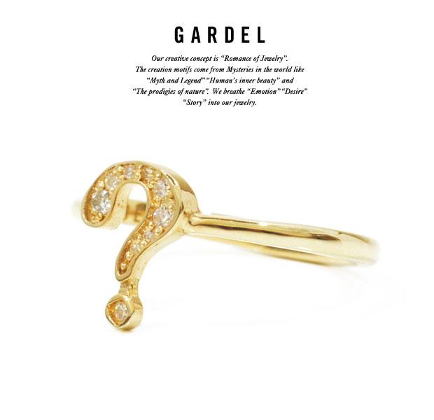 GARDEL ガーデル gdr073Q BAMBINA RING   リング/RINGK18 GOLD/ゴールド天然石/ダイヤモンド/DIAMONDメンズ/レディース/ペアアクセサリー/ジュエリー:EXTREME