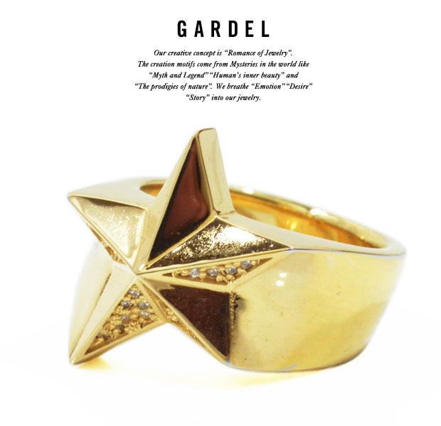 GARDEL ガーデル RING gdr066 gdr066 SPARKLING GARDEL STAR RING リング/RINGK18 GOLD/ゴールドSTAR/スターメンズ/レディース/ペアアクセサリー/ジュエリー, バッグの専門店BINGO!:4a41051d --- apps.fesystemap.dominiotemporario.com
