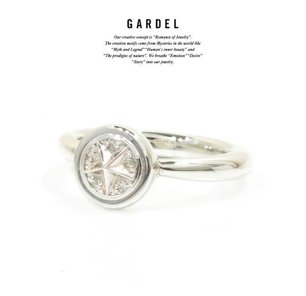 GARDEL ガーデル GDR-101 Luce Ring ジルコニア スター リング Silver シルバー