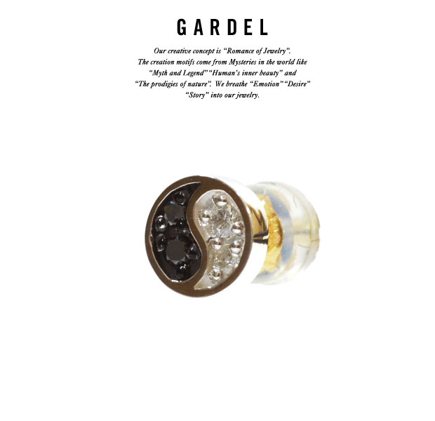 GARDEL ガーデルgde013YINYAN pierceピアス/piercesilver925/シルバーダイヤモンド/ジュエリー/アクセサリー