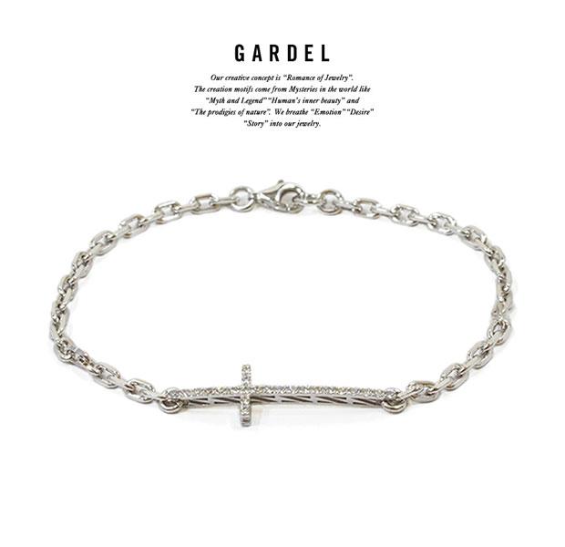 GARDEL/ガーデルgdb068/M.C BRACELET BRACELET/ブレスレット/Silver925/シルバー/CROSS/クロスメンズ/レディースアクセサリー/ジュエリー
