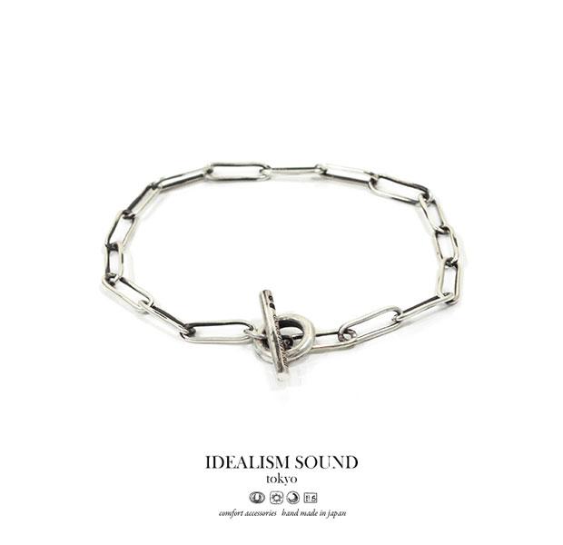 idealism sound イデアリズムサウンド ブレスレット 送料無料 【idealism sound】 イデアリズムサウンド idealismsound No.15090 Silver Chain Braceletシルバー チェーン ブレスレット メンズ レディース