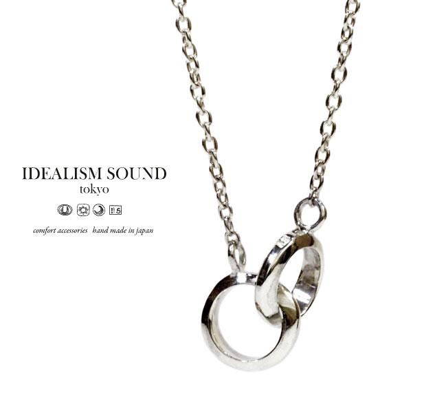 idealism sound ネックレス 送料無料 新着 代引手数料無料 期間限定 イデアリズムサウンド idealismsound メンズ No.11001 Silver レディース シンプル Necklaceシルバー