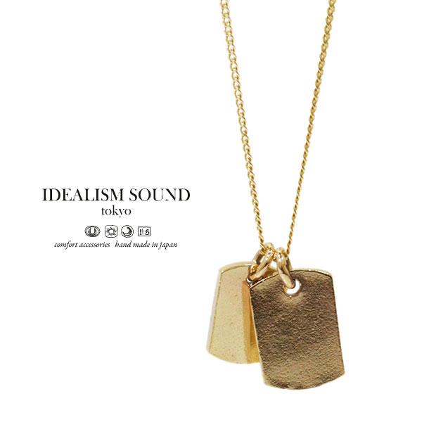 【idealism sound】 イデアリズムサウンド idealismsound No.14072 K10 Gold Necklace10金 ゴールド ネックレス メンズ レディース