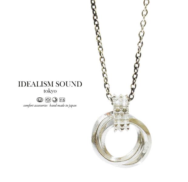 【idealism sound】 イデアリズムサウンド idealismsound No.14076 Silver Necklaceシルバー ネックレス メンズ レディース