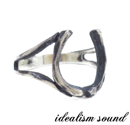 【idealism sound】/イデアリズムサウンドidealismsound/No.13097リング/RINGハンドメイド/アンティーク/ホースシューメンズ/レディース/アクセサリー/ネイティブSilver925/シルバー