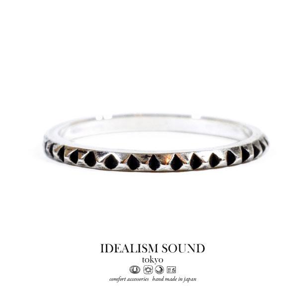 【idealism sound】/イデアリズムサウンドidealismsound/No.11100リング/RINGハンドメイド/アンティークメンズ/レディース/アクセサリー/ネイティブ/スタッズSilver925/シルバー