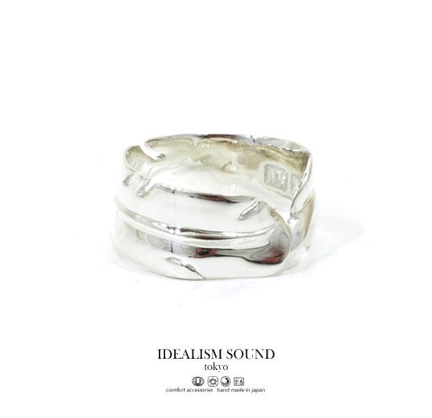 【idealism sound】 イデアリズムサウンド idealismsound No.15031 Silver Feather Ringシルバー フェザー リング ネイティブ メンズ レディース