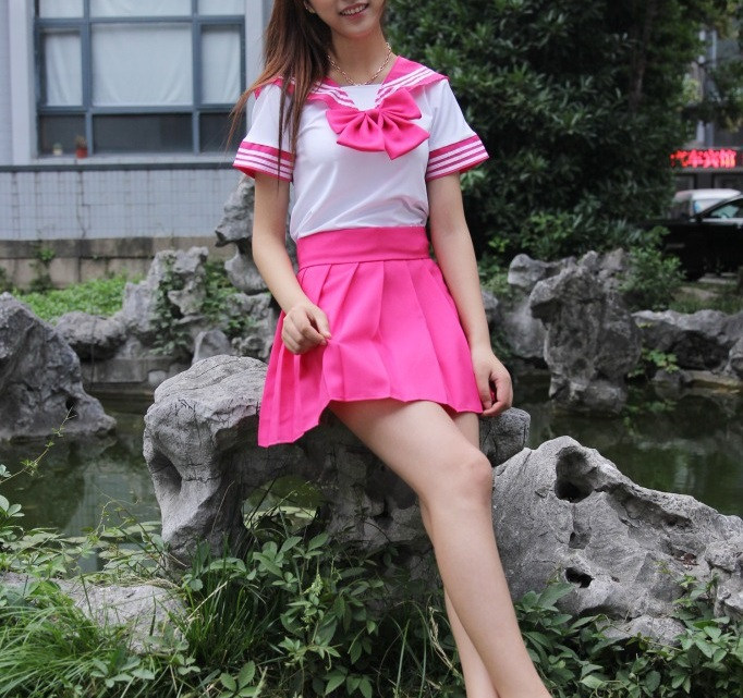 Prep school girl outfit-3763