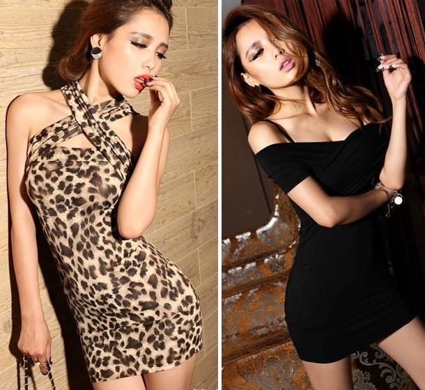 0b23ce8564 eye color  Sexy dress leopard pattern costume play Halloween Lady s ...