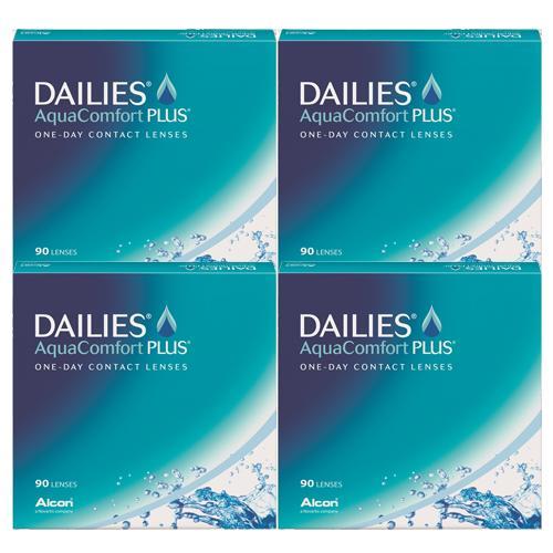 デイリーズアクアコンフォートプラス バリューパック (90枚)4箱セット 【送料無料】(デイリーズ アクア コンフォート プラス バリューパック アルコン 1day)--
