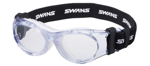 SWANS スワンズ アイガード SVS-600N W(ホワイト) スポーツ用ゴーグル コンパクトサイズ