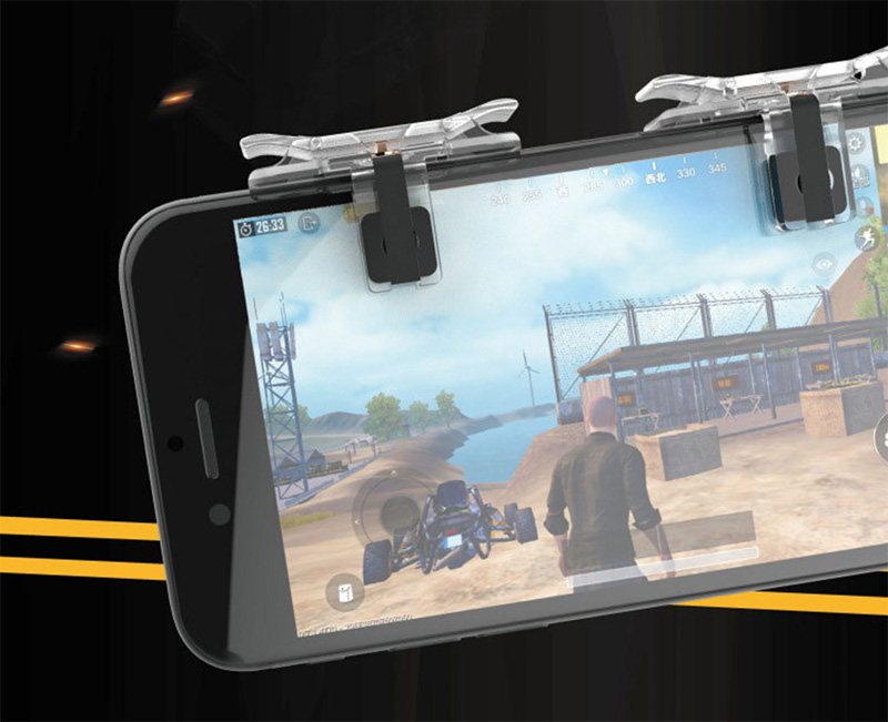 Wasteland action controller PUBG controller T10SPUBG mobile PUBG Mobile  iPad Android iphone shooting push button mobile game CODM CoD mobile Call  of