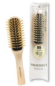 利島産一番しぼり椿油を使用 流行 地肌に心地よい刺激 ヘアブラシ木製ブラッシングブラシ 格安 髪をやさしく解きほぐす