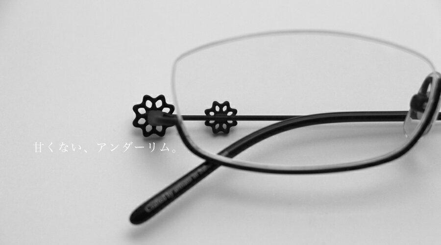 【送料無料】オニメガネ Onimegane OG-7204/7206 全色 メガネ フレーム 鯖江 眼鏡フレーム めがねフレーム レディース アンダーリム シンプル おしゃれ かわいい 日本製