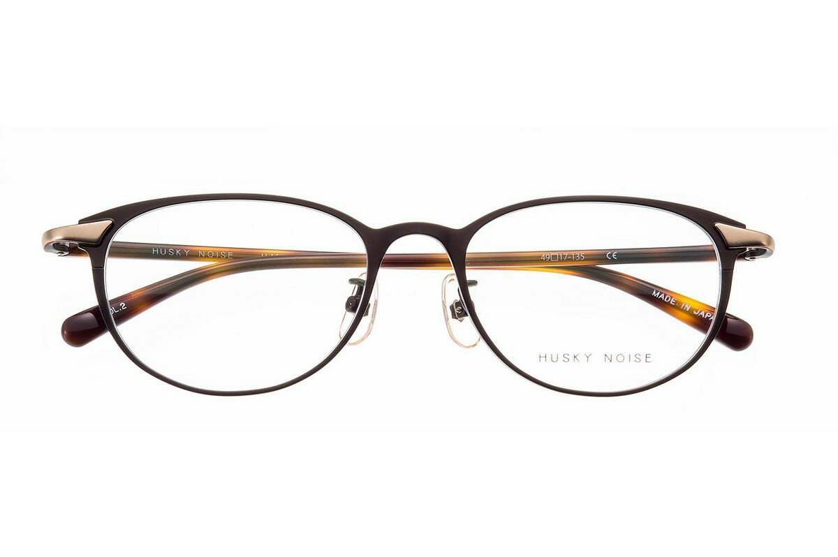 ハスキーノイズ めがね HUSKY ボスリントン NOISE H-164 全色 メガネ 丸い フレーム 眼鏡 めがね 鯖江 日本製 国産 女性 軽い 軽量 メタル チタン βチタン ベータチタン ボスリントン ボストン ウェリントン 丸い, BISES-FLOWER:f8cbc4a6 --- kutter.pl