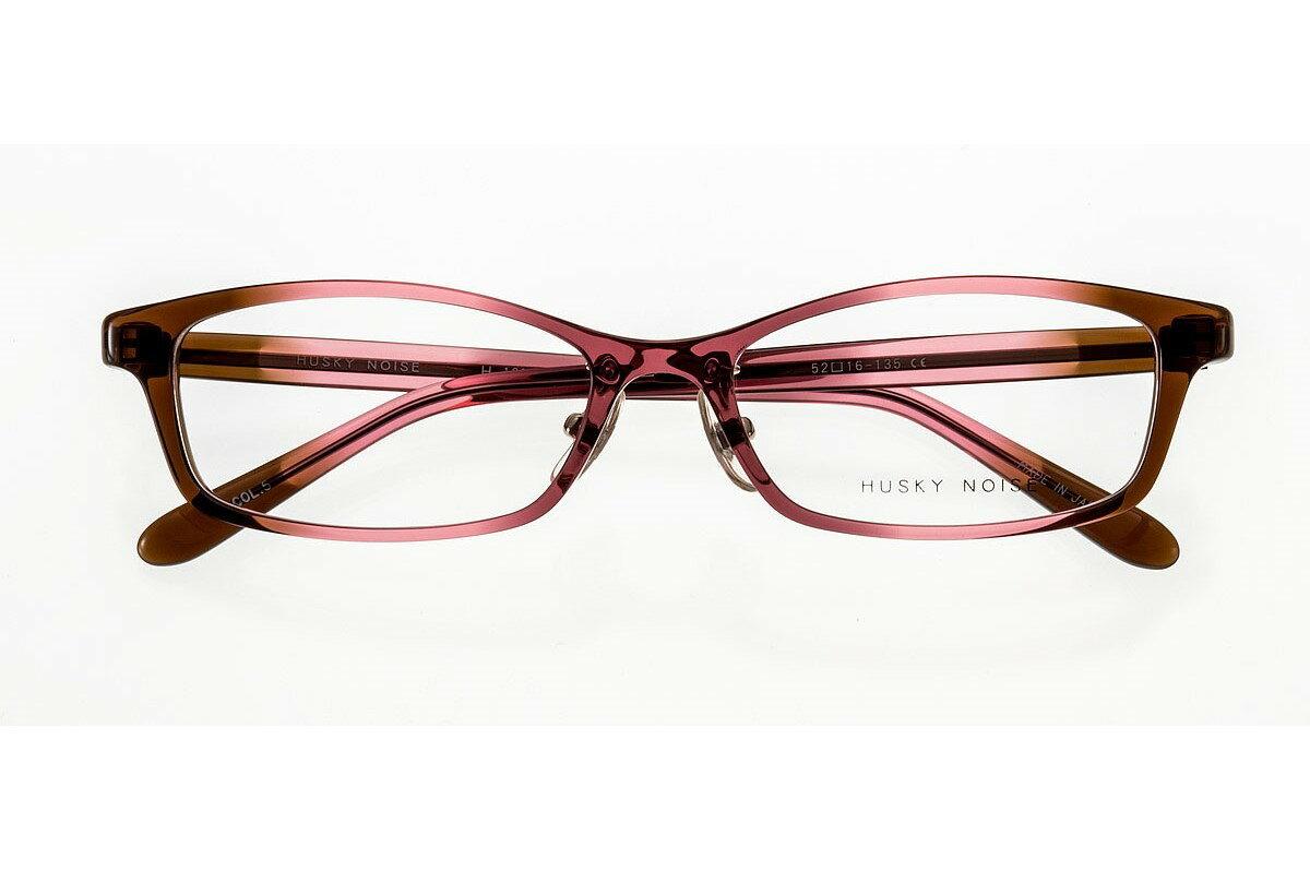 ハスキーノイズ HUSKY NOISE H-160 全色 メガネ フレーム 眼鏡 めがね 鯖江 日本製 国産 女性 軽い 軽量 セル プラスチック スクエア 四角