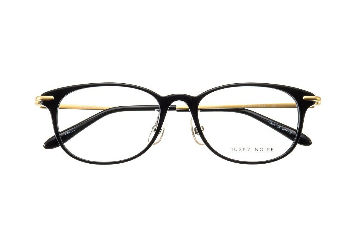 ハスキーノイズ HUSKY NOISE H-158 全色 メガネ フレーム 眼鏡 めがね 鯖江 日本製 国産 女性 軽い 軽量 メタル チタン βチタン ベータチタン ボスリントン ボストン ウェリントン 丸い