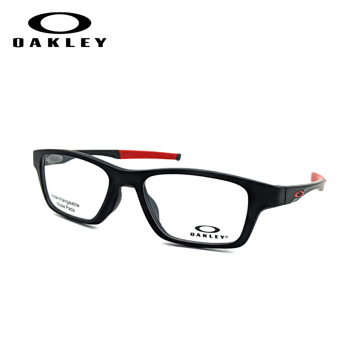 OAKLEY CROSSLINK HIGH POWER オークリー クロスリンク ハイパワー メガネ フレーム OX8117-01 52サイズ 度付き対応 近視 強度 度数 強い スポーツ オプサルミック 眼鏡 フレーム 軽い 軽量 丈夫 男性 メンズ 女性 レディース 【送料無料】