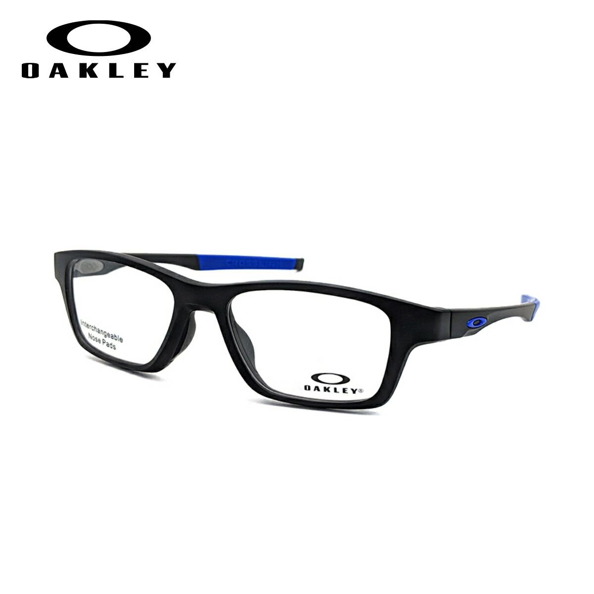 OAKLEY CROSSLINK HIGH POWER オークリー クロスリンク ハイパワー メガネ フレーム OX8117-04 52サイズ 度付き対応 近視 強度 度数 強い スポーツ オプサルミック 眼鏡 フレーム 軽い 軽量 丈夫 男性 メンズ 女性 レディース 【送料無料】