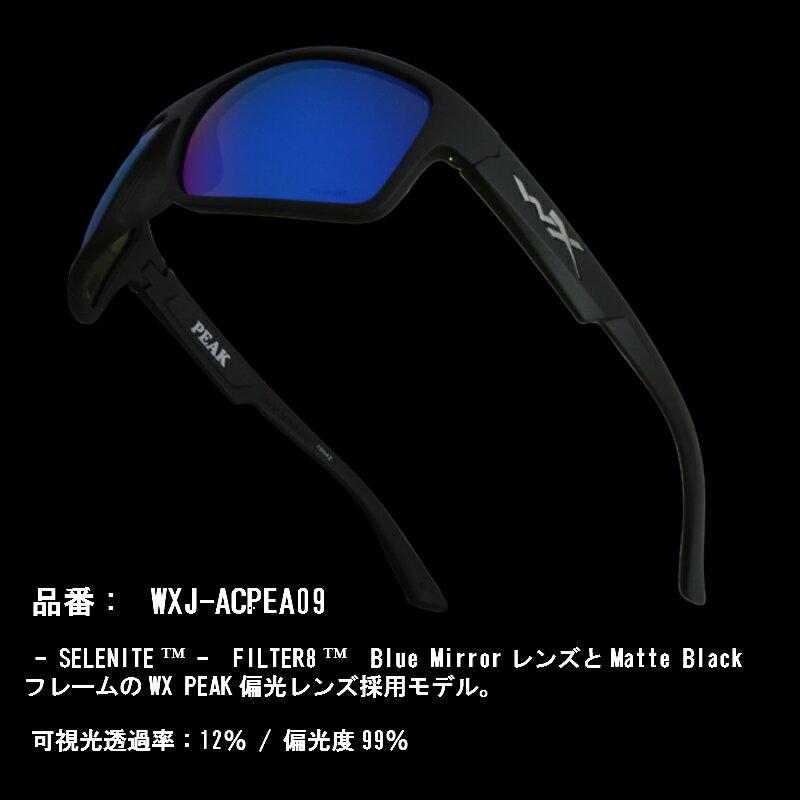 cac1632fe7 WILEY X (Wiley X) sunglasses WX PEAK WXJ-ACPEA01 WXJ-ACPEA04 WXJ-ACPEA09  polarization U.S. forces military impact resistance