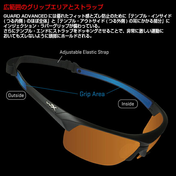 eee74433ca WILEY X (Wiley X) sunglasses GUARD ADVANCED WXJ-4006-2 U.S. forces military  impact resistance motorcycle