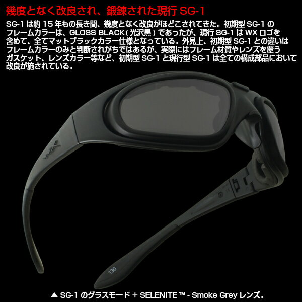 99b958d8b7 eyeneed  WILEY X (Wiley X) sunglasses SG-1 ver.J U.S. forces ...