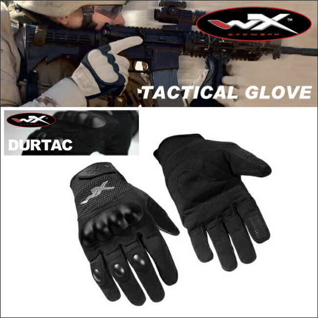 WILEY X ワイリーエックス TACTICAL GLOVE グローブ DURTAC 米軍 ミリタリー バイク サバゲー