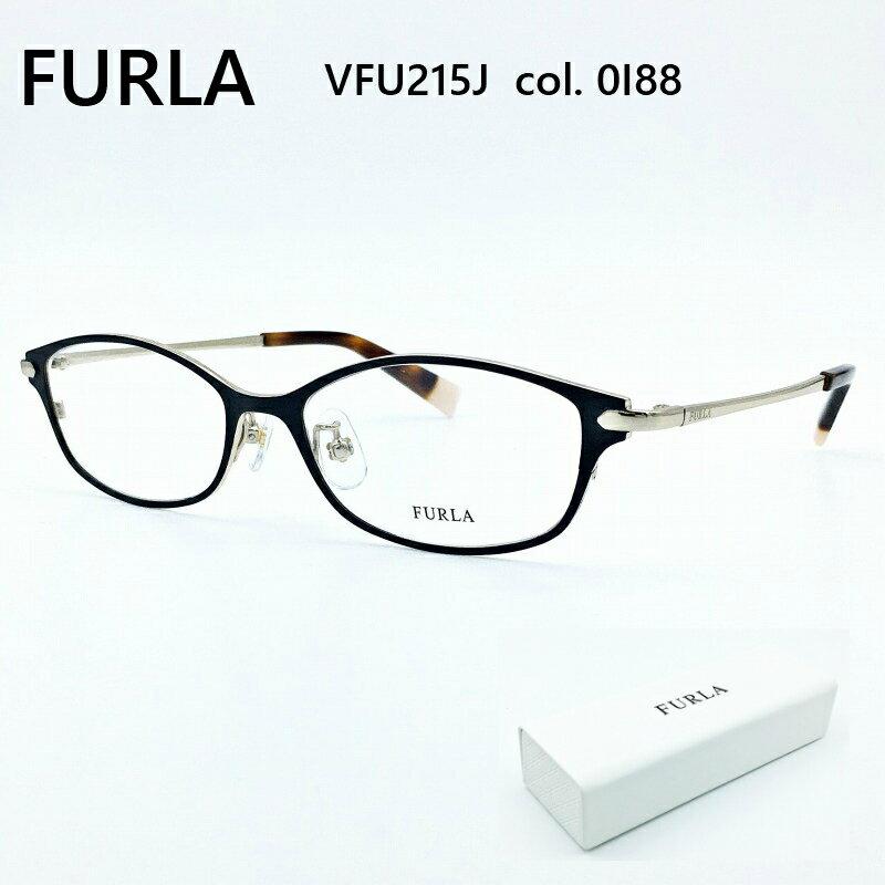 FURLA フルラ VFU215J col.0I88 メガネ 眼鏡 めがね フレーム 度付き 度入り 対応 メタル レディース 女性 可愛い かわいい おしゃれ きれい シンプル 普段使い 【送料無料】
