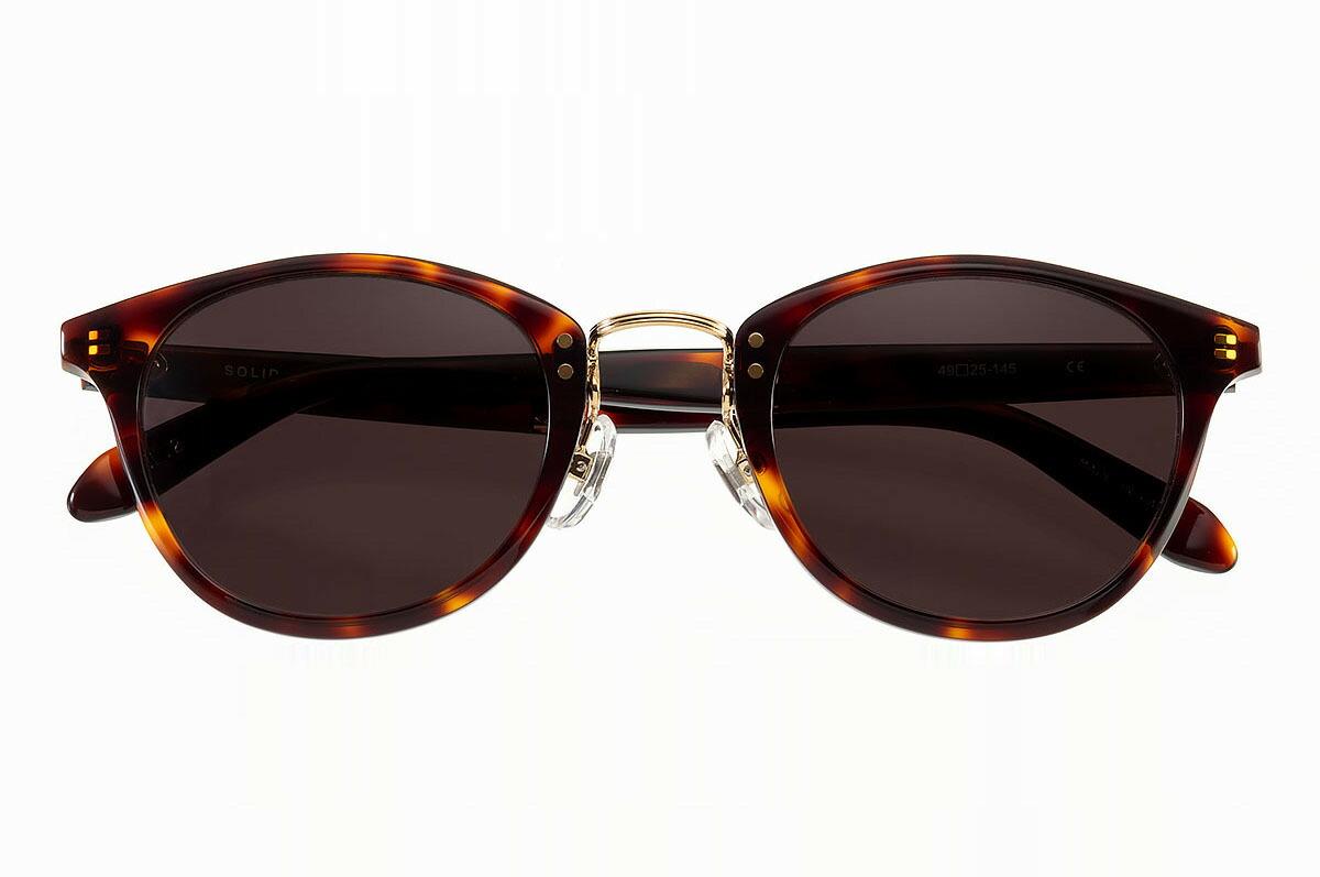 ソリッドブルー SOLID BLUE S-232 メガネ サングラス 折りたたみ フォールディング フレーム 眼鏡 めがね セル プラスチック 日本製 国産 鯖江 男 メンズ 【送料無料】おしゃれ クラシック 度付対応 UVカット