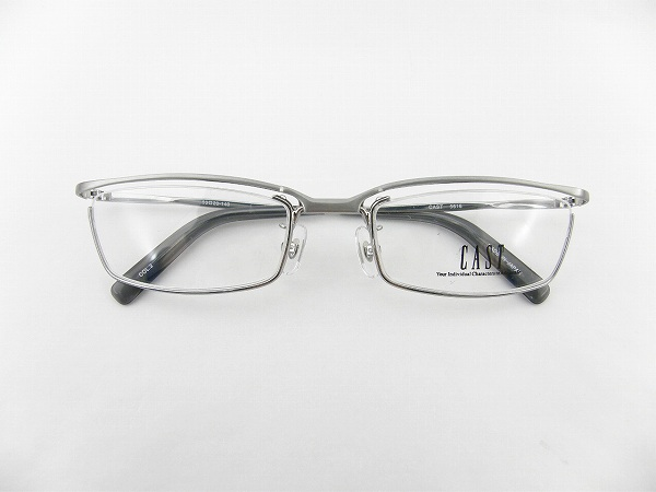 【送料無料】【国内正規品】【日本製】キャスト チタン メガネフレーム 跳ね上げ式 5616-2 シャーリングシルバー ユニセックス 男女兼用 CAST スクエア 眼鏡 PCメガネ ブルーライトカット 度付き対応可