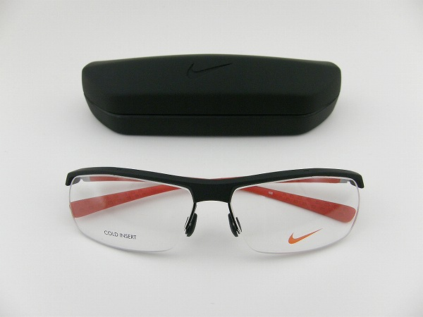 c4f4a2ac07 Nike glasses 7071-2-011 lens with athletes shipping included brand new real  lightweight sports design professional specification linnie black genuine